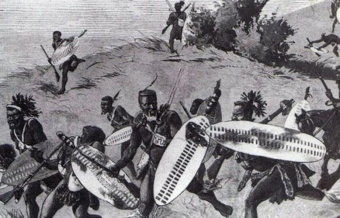 savaş sahnesi